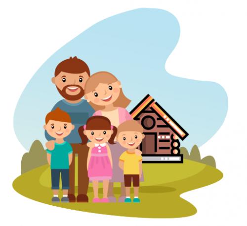 Cabanes confort famille